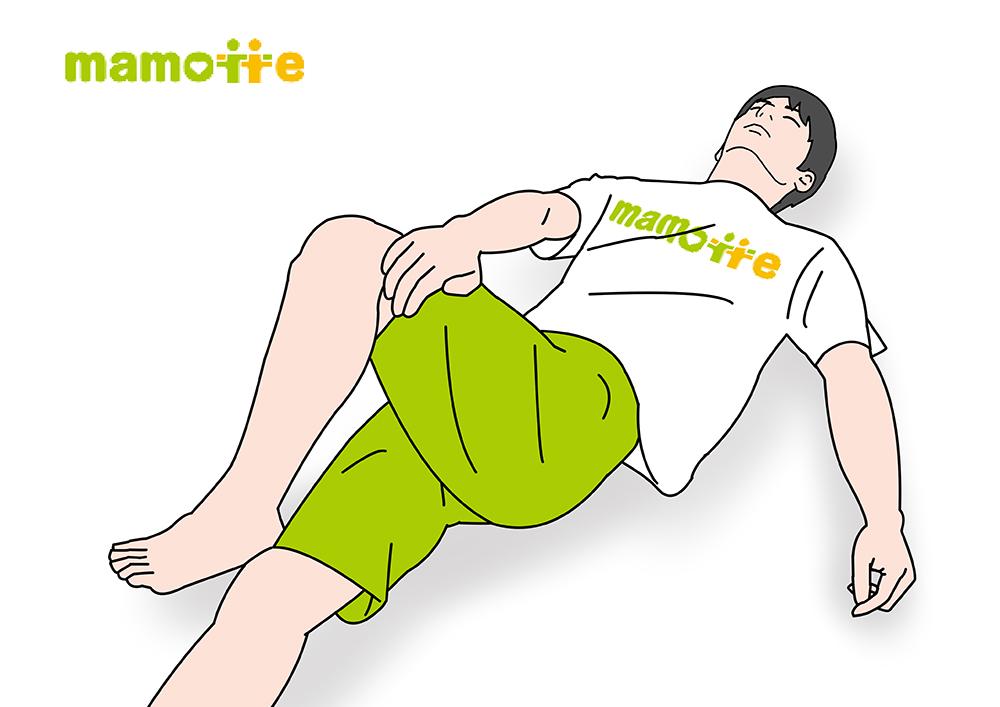 腰捻り体操