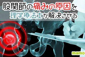 股関節の痛みの原因について